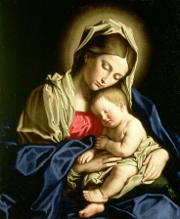 Sassoferrato'n madonna ja lapsi